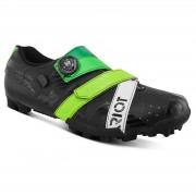 Bont Riot+ MTB Shoes - EU 41 - Black/Green