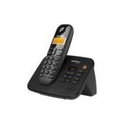 Telefone s/ fio Dect 6.0 c/ identificador de chamadas e secretária preto TS3130 Intelbras