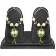Jewels Gold Alloy Party Wear Wedding Latest Stylish Fancy Jhumki Earring Set For Women Girls
