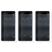 Deltakart Tempered Glass for Nokia 5 - Pack of 3