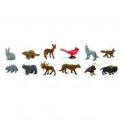Animale din natura Safari Toob Set 12 figurine