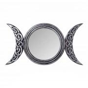 Dekoráció (tükör) ALCHEMY GOTHIC - Triple Moon - V87