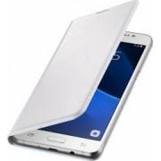 Husa Flip Samsung Galaxy J5 J510 2016 Alba