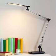 Lampenwelt.com Lámpara LED de escritorio Felipe con pinza