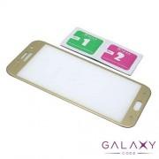 Folija za zastitu ekrana GLASS 5D za Samsung A720F Galaxy A7 2017 zlatna