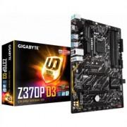 Дънна платка gigabyte z370p d3, socket 1151 (300 series), 4xddr4, rgb fusion, ga-mb-z370p d3