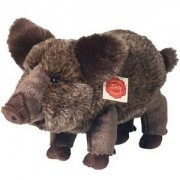Teddy Plüschtier Wildschwein stehend, 30cm
