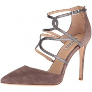 Badgley Mischka Women's Dianne II Dress Pump, Taupe, 9 M US