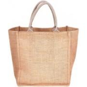 PRAHAN INTERNATIONAL Carry Bag Designer Natural Juit Hand Carry Bag with two Handle Strap PS20012A(Natural Jute)