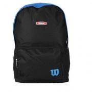 Mochila Wilson Esportiva WTIX13551A - Unissex-Preto+Azul Turquesa