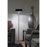 Linea Verdace Vloerlamp Notär - H139 Cm - Zwart Glas/Mat