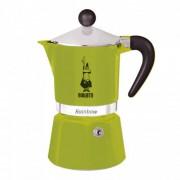 "Espressokocher Bialetti ""Moka Rainbow 3-cup Green"""