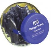Pelikan Tintenpatronen, Königsblau , Ersatzpatronen geeignet für fast alle gängigen Füllhalter , 1 Glas = 100 Stück