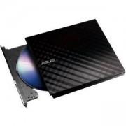 Външно USB DVD записващо устройство ASUS SDRW-08D2S-U LITE, USB 2.0, черно, DVD-RW-ASUS-SDRW-08D2S-U-LITE-BLK-G-AS