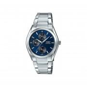 Reloj Analógico Hombre Casio MTP-1405D-2A Cronógrafo - Plateado con Azul
