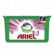 Detergent de rufe Ariel gel capsule Pods Touch of Lenor, 39 capsule x 29 ml