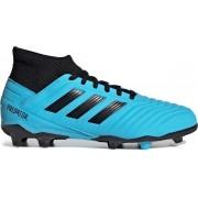 Adidas Predator 19.3 FG Jr Voetbalschoenen - Grasveld - blauw licht - 36