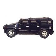 Braha GM Hummer H2 Black 1:24 Licensed Friction Car