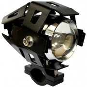 Lumeno U5 Motorcycle Spot Light - 3000 Lumen / 200m, Black