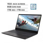 Lenovo 2020 IdeaPad S340 15.6 Inch Laptop (Intel Quad-Core i5-8265U up to 3.9GHz, 8GB DDR4 RAM, 1TB SSD (Boot) + 1TB HDD, Intel UHD Graphics 620, WiFi, Bluetooth, HDMI, Windows 10) (Black)
