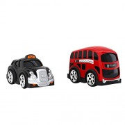 Hamleys London Bus and Taxi Playset (Red)
