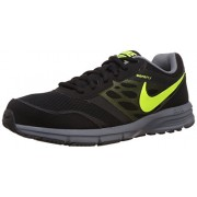 Nike Men's Air Relentless 4 Msl Black,Volt,Cool Grey Running Shoes -7 UK/India (41 EU)(8 US)