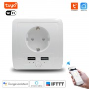 WiFi inteligentná Zásuvka 230V pod omietku Tuya Smart Life