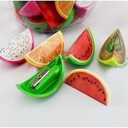 Infinxt Fruit Shaped Pencil Sharpener For Kids Pack of 12