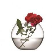 Vaza rotunda sticla Pasabahce Flora 12 cm