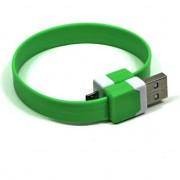 Accesoriu pentru imprimanta noname Cablu USB NoName microUSB 0.25m verde