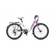 "Велосипед Sprint STARLET 24"", NEX3; WHT; LILA/PINK"