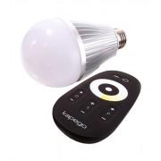 Led Leuchtmittel E27 RF White 2700K - 6000K 6 W Funk Fernbedienung