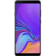 "Telefon Mobil Samsung Galaxy A9 2018, Procesor Octa-Core 2.2GHz / 1.8GHz, Super Amoled Capacitive touchscreen 6.3"", 6GB RAM, 128GB Flash, 4 Camere 24MP + 8MP + 10MP + 5MP, Wi-Fi, 4G, Dual Sim, Android (Negru) + Cartela SIM Orange PrePay, 6 euro credit, 6"
