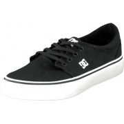 DC Shoes Trase Tx Shoe Black/White, Skor, Lågskor, Tygskor, Svart, Herr, 40