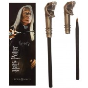 Noble Collection Harry Potter - Lucius Malfoy Pen & Bookmark