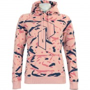 Peak Performance Women Art Hoody soft pink pattern