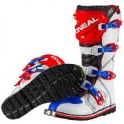 Oneal O´Neal Rider Botas de Motocross Rojo Azul 47