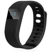 TW64 Black Waterproof Smart Bluetooth Wrist Fitness Band