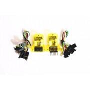 Generic Yellow : Side pin / straight pin OpenPilot Mini CC3D Atom /CC3D EVO Flight Controller for mini 250 Quadcopter Multirotor