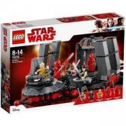 Конструктор Лего Старс Уорс - Тронната зала на Snoke, LEGO Star Wars, 75216
