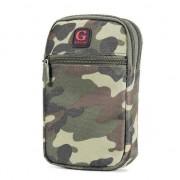 GadgetBay Etui universel pour téléphone à l'épreuve des chocs pour mobile - Army Camouflage Green