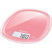 Cantar electronic de bucatarie Sencor SKS 34RD 5kg Rosu