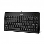 KBD, Genius LuxeMate 100, Black, USB mini (31300725100)