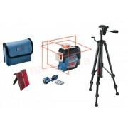 Bosch GLL 3-80C vonallézer BT150 állvánnyal Bluetooth 0601063R01