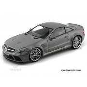 Motormax Mercedes Benz Sl65 Amg Black Series Hard Top (1/18 Scale Diecast Model Car, Grey) 79161 Diecast Motorcycles And Cars