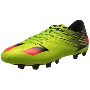 adidas Men's Messi 15.4 Fxg Green, Red and Black Football Boots - 11 UK