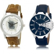 The Shopoholic White Blue Combo Fashionable Fancy Collection White And Blue Dial Analog Watch For Boys Watches For Men Formal