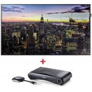 "Pachet solutie profesionala TV LED Samsung 65"", Ultra HD 4K, HDMI + Solutie transmisie semnal AV wireless Click Share CSE-100"