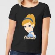 Disney Camiseta Disney Cenicienta - Mujer - Negro - M - Negro