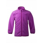 Bergans Of Norway Treungen Kids Jacket Heather DkHeather Fleecejacka Barn